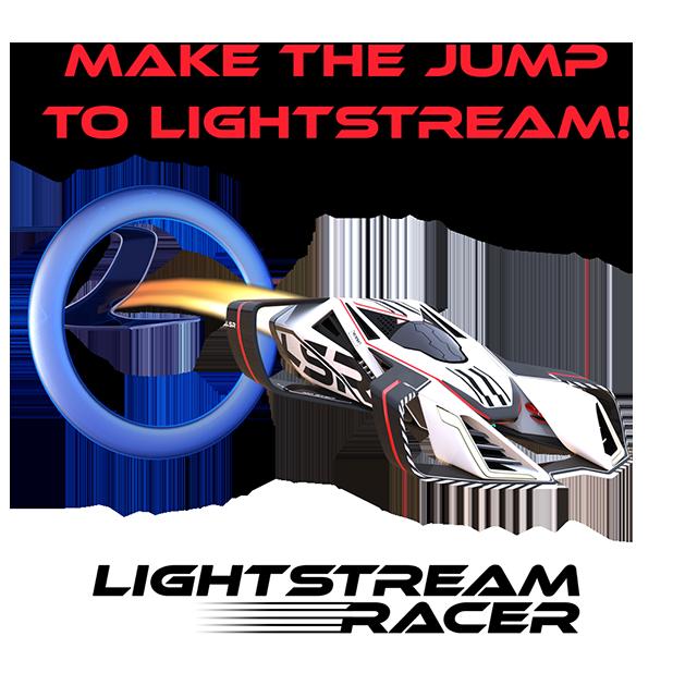 Lightstream Racer messages sticker-0