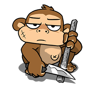 Crazy Monkey Town messages sticker-4