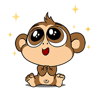 Crazy Monkey Town messages sticker-1