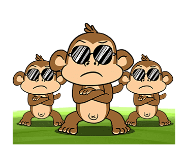 Crazy Monkey Town messages sticker-5