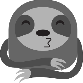 Sloth Stickers Pro messages sticker-2