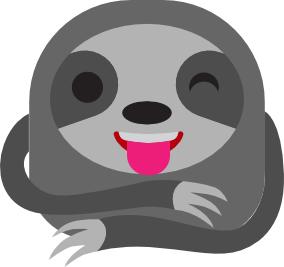 Sloth Stickers Pro messages sticker-1