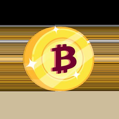 Bitcoin Emoji messages sticker-9