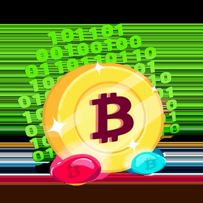 Bitcoin Emoji messages sticker-8