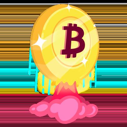Bitcoin Emoji messages sticker-5