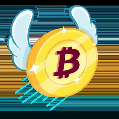 Bitcoin Emoji messages sticker-1