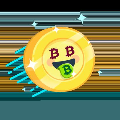 Bitcoin Emoji messages sticker-3