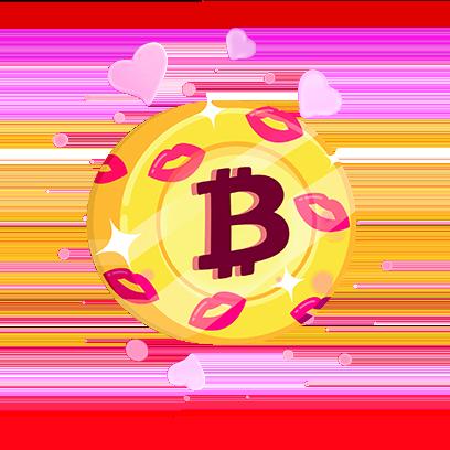 Bitcoin Emoji messages sticker-4