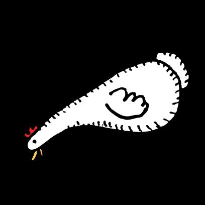 Happy Chickens Stickers messages sticker-6