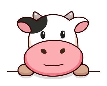 Kitty the Cow Animated messages sticker-7
