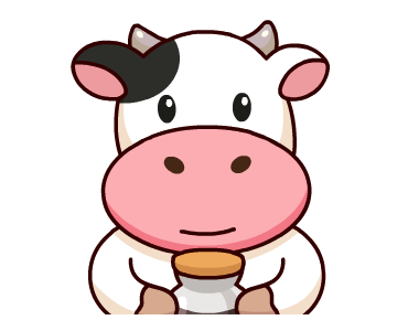 Kitty the Cow Animated messages sticker-10