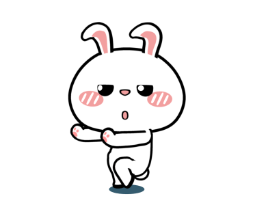 Crazy Bunny Animated messages sticker-10