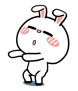 Crazy Bunny Animated messages sticker-4