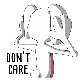 Thug Bunny messages sticker-4