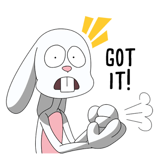 Thug Bunny messages sticker-6