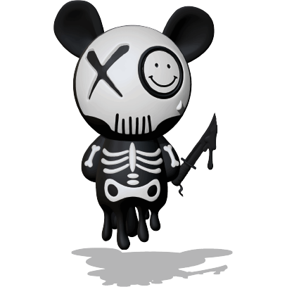 Panda Ghost Revenge 2.0 SP messages sticker-9