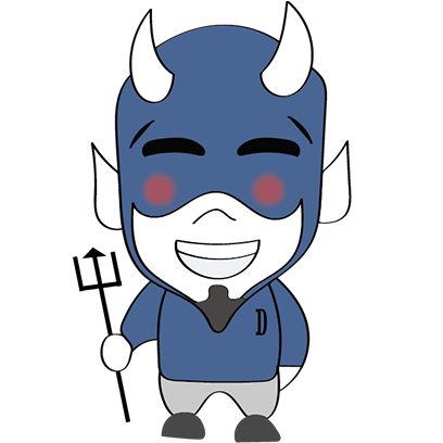 Blue Devil Stickers messages sticker-11