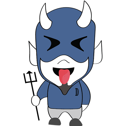 Blue Devil Stickers messages sticker-1