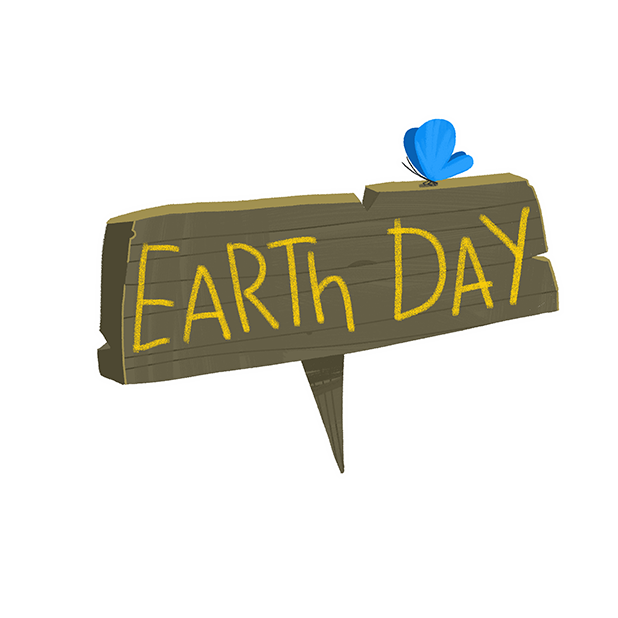 Earth Day Stickers Set messages sticker-9