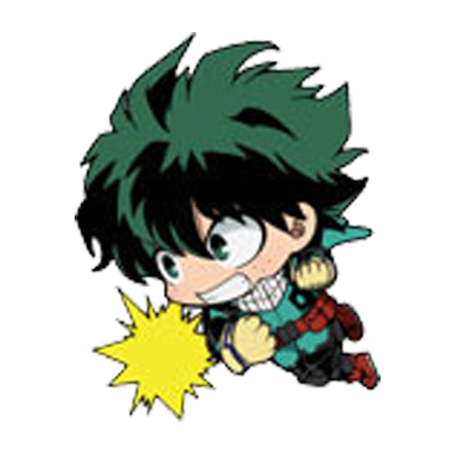 My Hero Academia messages sticker-4