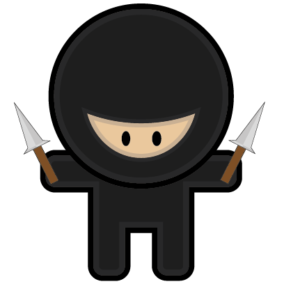 Fighting Ninja messages sticker-3