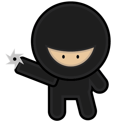 Fighting Ninja messages sticker-1