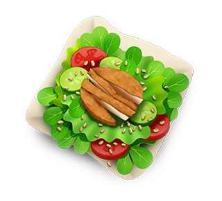 MAX Green Burger Emojis messages sticker-1
