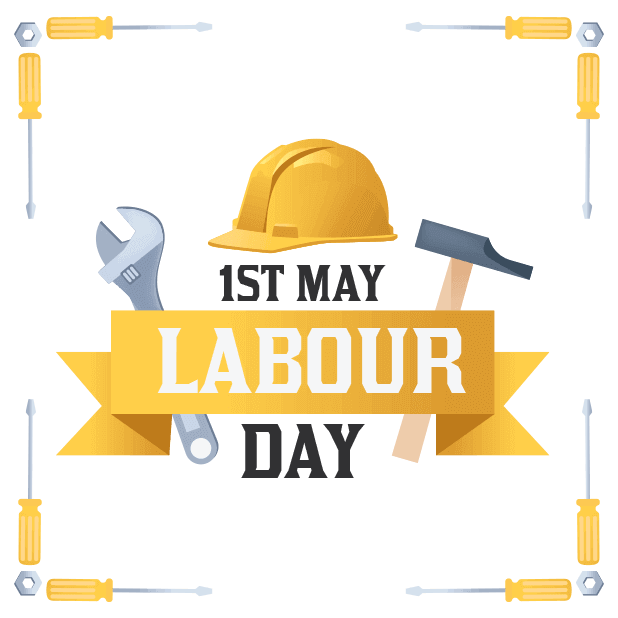 Happy Labour Day - 1st May messages sticker-3