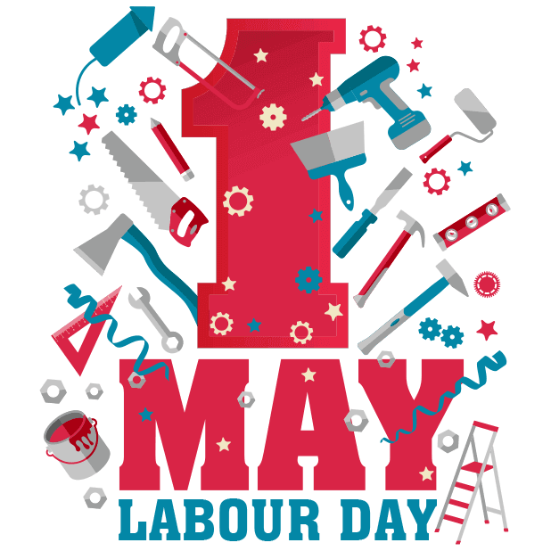 Happy Labour Day - 1st May messages sticker-0