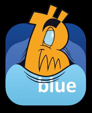 BlueWallet - Bitcoin wallet messages sticker-2