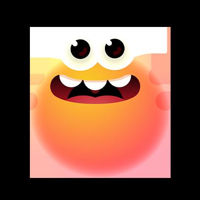 Bloop Go! messages sticker-7