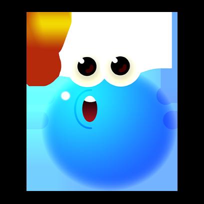 Bloop Go! messages sticker-8