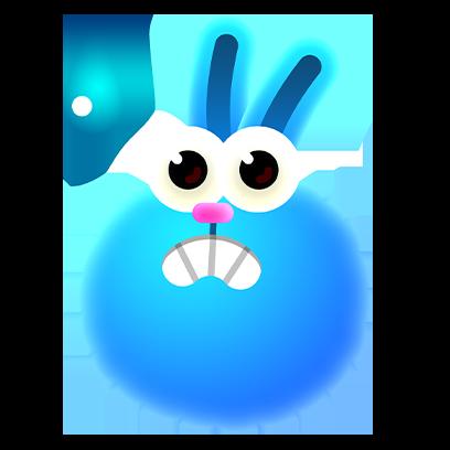 Bloop Go! messages sticker-4