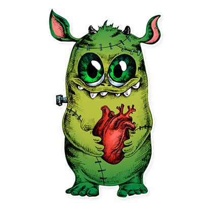 Beautiful Monsters - Stickers messages sticker-10