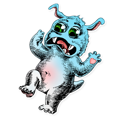 Beautiful Monsters - Stickers messages sticker-11