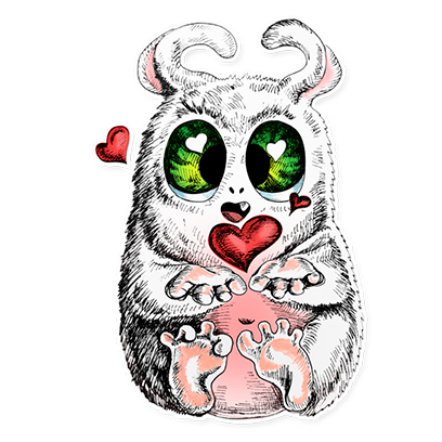 Beautiful Monsters - Stickers messages sticker-6