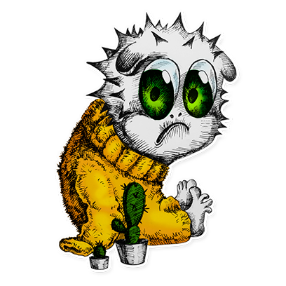 Beautiful Monsters - Stickers messages sticker-9
