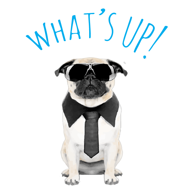 Pug Life messages sticker-10