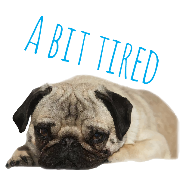 Pug Life messages sticker-7