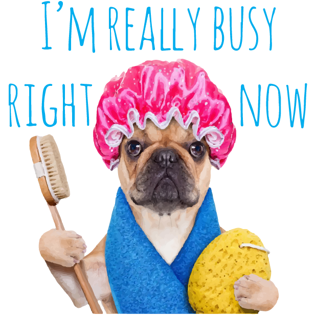 Pug Life messages sticker-2