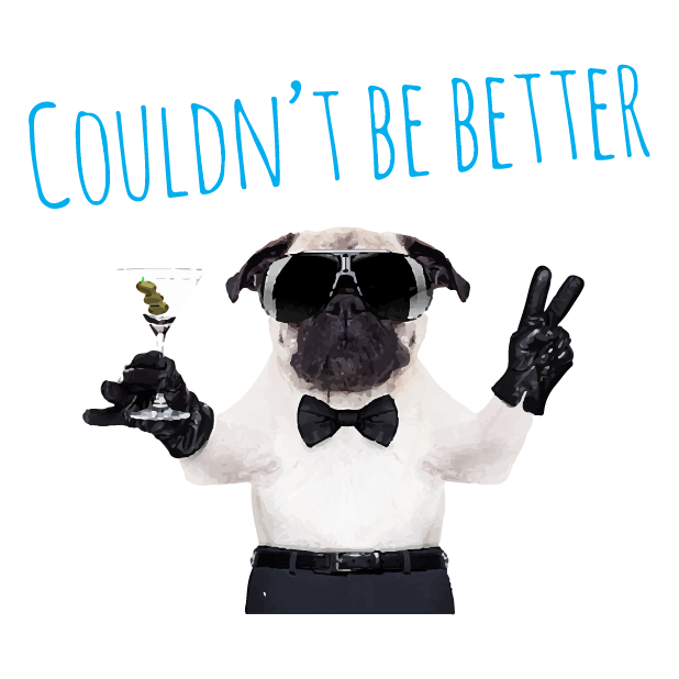 Pug Life messages sticker-6