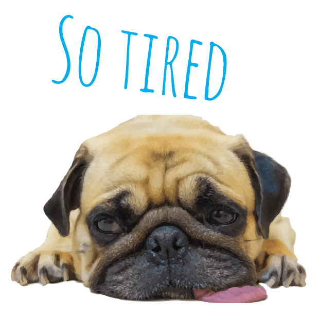 Pug Life messages sticker-8