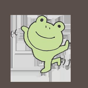 Frog PYOKOTA messages sticker-3