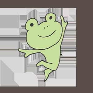 Frog PYOKOTA messages sticker-4