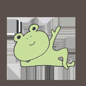 Frog PYOKOTA messages sticker-10