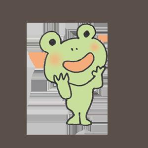 Frog PYOKOTA messages sticker-8