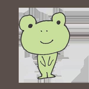 Frog PYOKOTA messages sticker-7