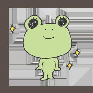 Frog PYOKOTA messages sticker-9