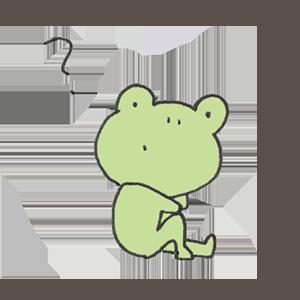 Frog PYOKOTA messages sticker-11