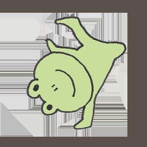 Frog PYOKOTA messages sticker-1